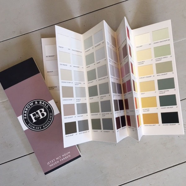 Paint Palette used by Creative Chic Specialist Kitchen and Furniture Painter